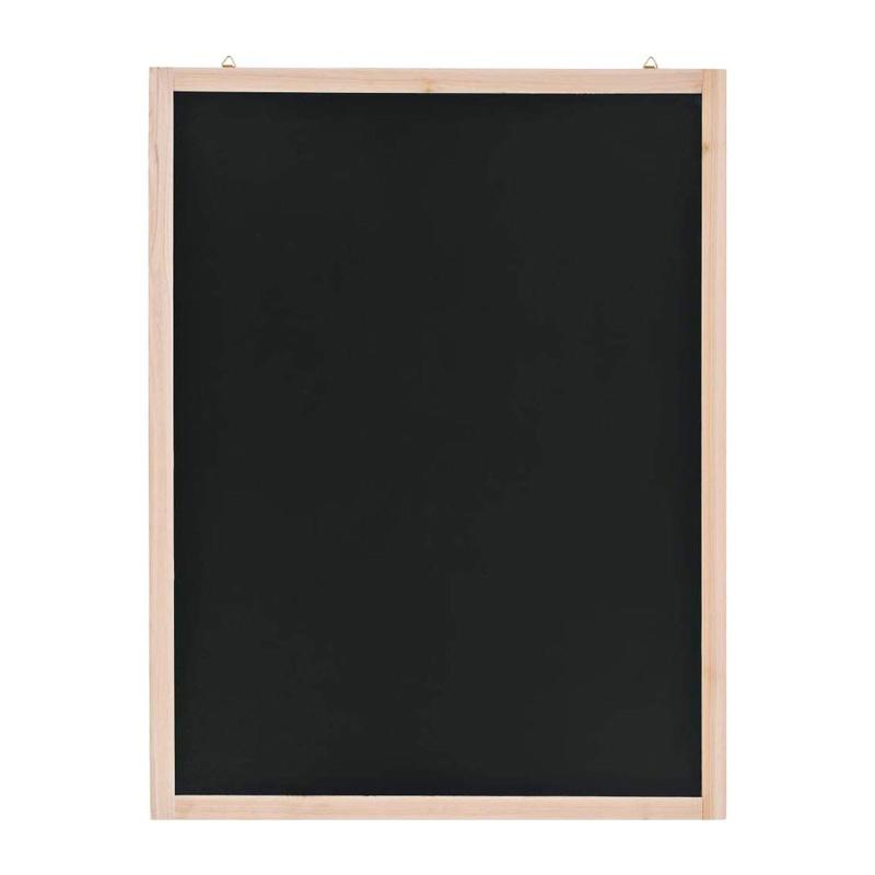 Festnight- Lavagna da Parete in Legno di Cedro 60x80 cm